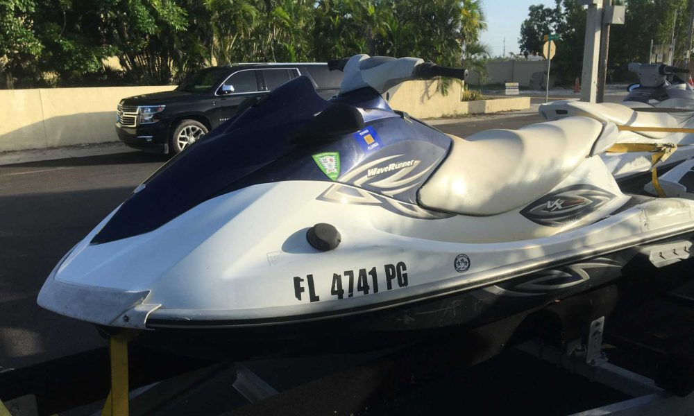 2011 Yamaha VX110 Deluxe with blown motor  Ecu and wiring