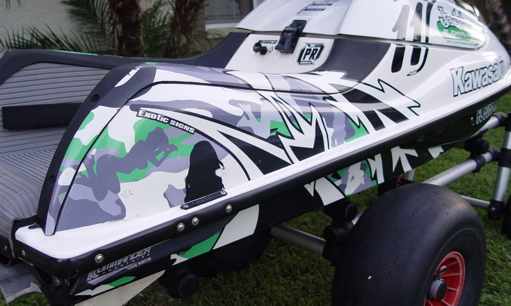 Kawasaki Sxr 1100cc Rocket Ship Stand Up Jetski For Sale