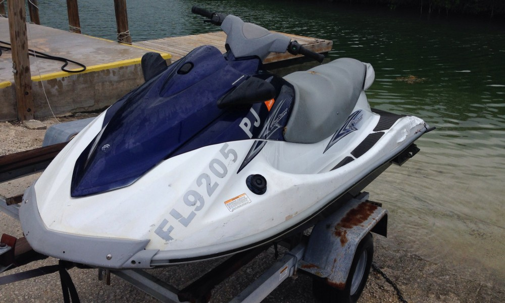 2012 Yamaha VX110 sport- stock# 9205 Ski starts and runs but has low